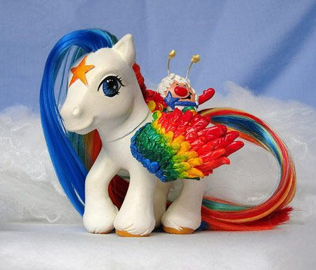"MLP Starlite - my favorite character from the Rainbow Brite show when I was little.  When older, I noticed a trend - that my favorite, childhood, 80's characters were often the ""sarcastic"" or ""smart"" ones."