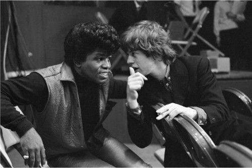 Ο Brown δεν ήταν καθόλου χαρούμενος που θα έπαιζε πριν από τους Rolling Stones. Τους θεωρούσε ερασιτέχνες...