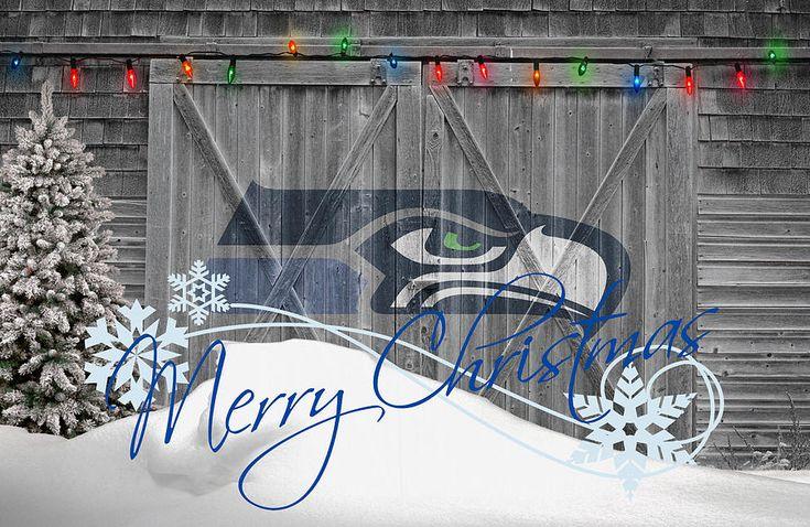 seattle seahawks christmas posts | Seattle Seahawks Photograph by Joe Hamilton - Seattle Seahawks Fine ...