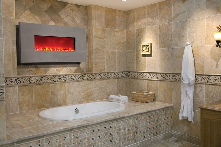 Dynasty Bg100wlf Limestone Wall Mount Electric Fireplace