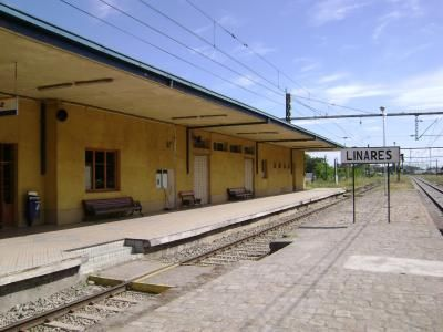 Otra imagen actual de la Estación Ferroviaria de Linares.