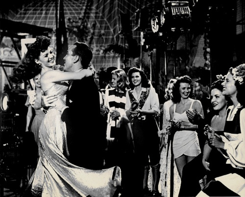 a moment in time- frozen forever: Rita Hayworth and Ricardo Montalbán
