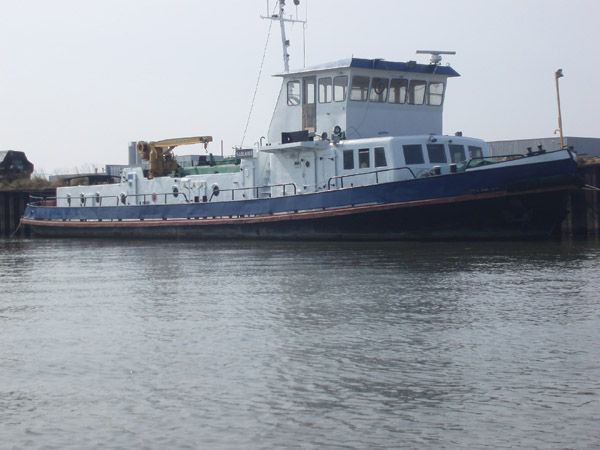 Boats for sale Netherlands, boats for sale, used boat sales, Commercial For Sale 27mTUG/ICEBREAKER/HOUSEBOAT - Apollo Duck