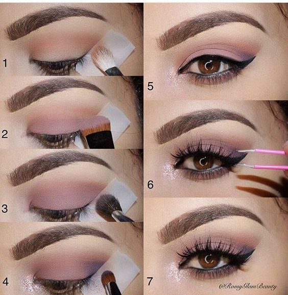 Eyelash tutorial to dazzle with a look of vertigo