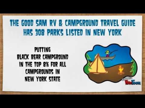 Rv Camping 101 at Black Bear Campground in Florida New York