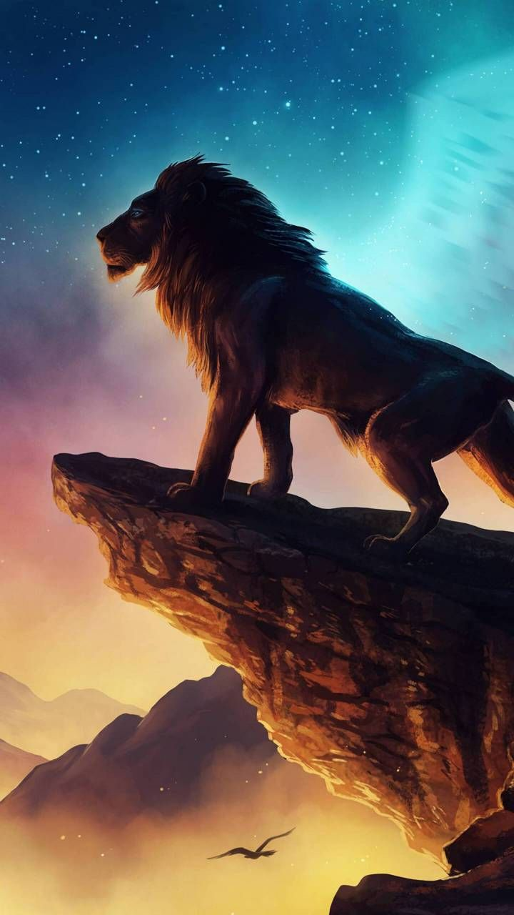 Lion king Drawing ideas in 2019 Lion, Animal wallpaper