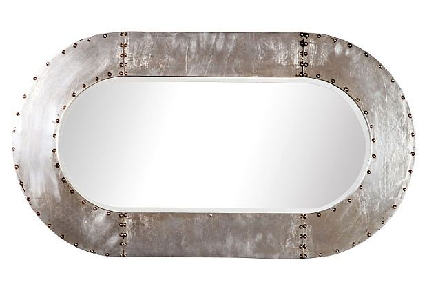 Mindy Wall Mirror Silver On Onekingslane Com Mirror