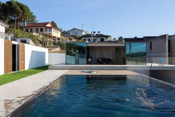 Gallery of Pool Pavilion / António Cruz Lopes – 1