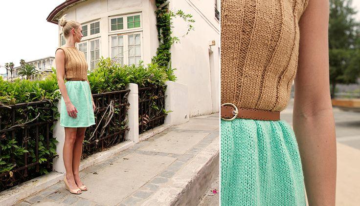 Sommer-strik-kjole