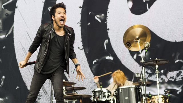 DOWNLOAD 2014: MISS MAY I AND CROSSFAITH #Download main stage opens in an explosion of metal's new breed