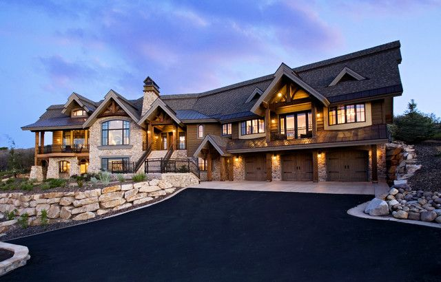 Pacific northwest home designs homes with luxury pool and garden exquisite house exterior - Northwest home designs ...