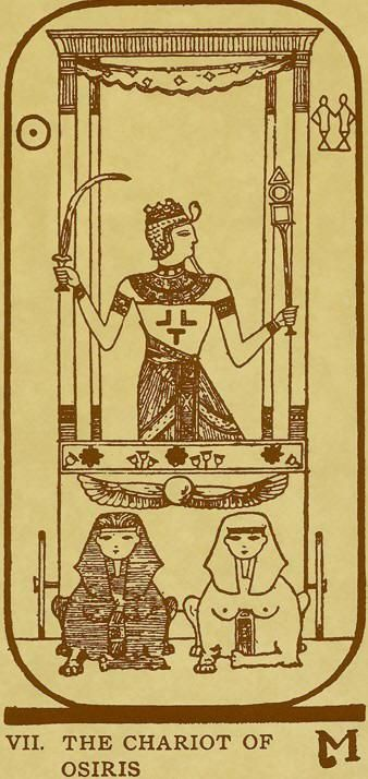 7 - VII - The Chariot of Osiris