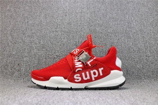 ca0a8c56a9a Supreme x NIKE SOCK Dart Supreme  Red White  818686-002