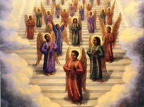 Black Angel Art - A Gospel Choir of Angels - Tim Ashkar