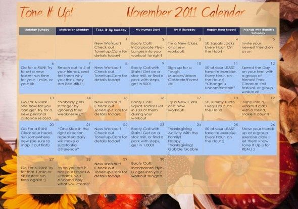 46 best Fitness Calendars images on Pinterest | Fitness ...