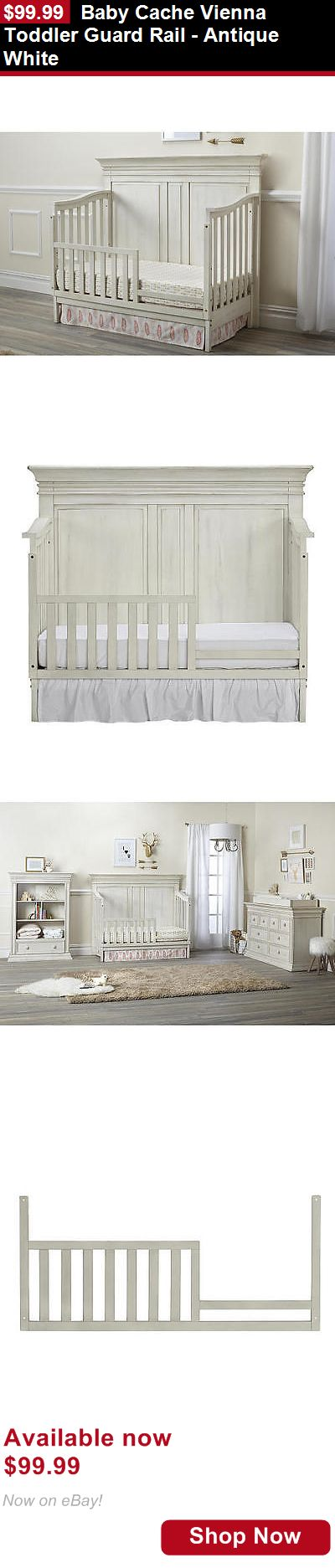 Nursery Furniture Sets: Baby Cache Vienna Toddler Guard Rail - Antique White BUY IT NOW ONLY: $99.99