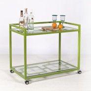 Hampton Bar Cart via Dovecote Decor $962