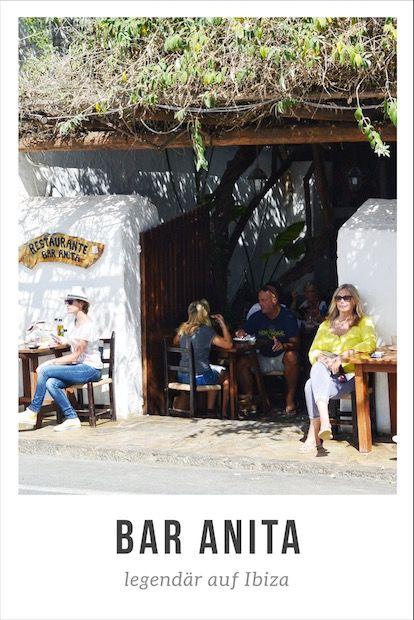 Bar Anita Ibiza - das legendäre Restaurant - Besuch mit dem Kind