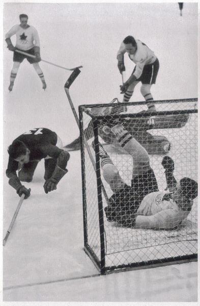 Ice Hockey, Canada - Lettland(11:0) 1936 olympia