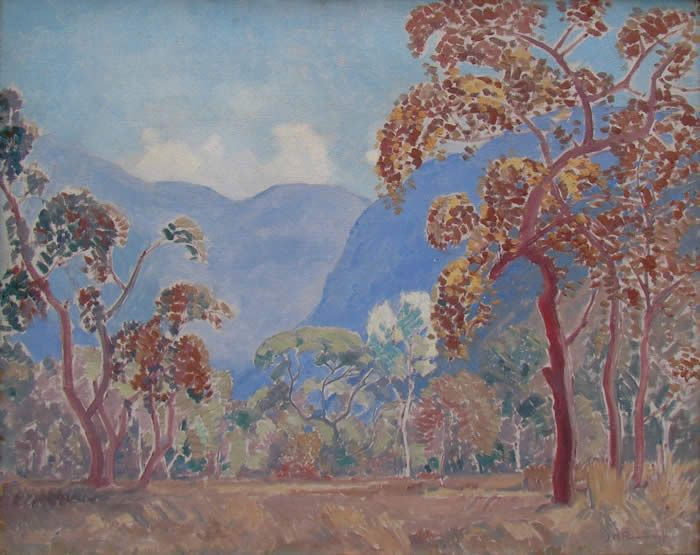 Jacob Hendrik Pierneef (1886-1957) - Rustenburg Kloof