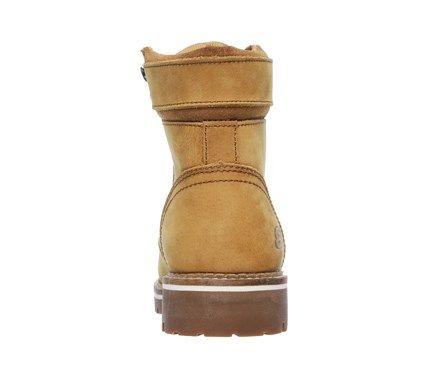 Skechers Work Women's Brooten Memory Foam Steel Toe Work Boots (Carmel)