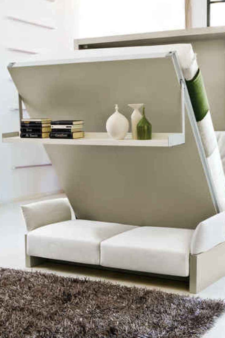 Ikea murphy bed couch - 10 Space Saving Furniture Hacks For Your Tiny Apartment Cheap Murphy Bedmurphy Bed Ikeacabana
