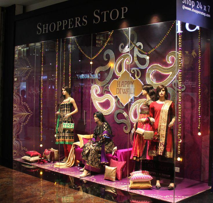 Diwali 2014 Window Display @ Shoppers Stop, Thane