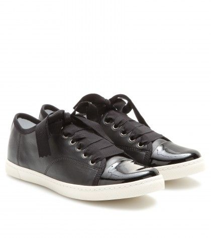 Lanvin - Leather sneakers  - mytheresa.com GmbH