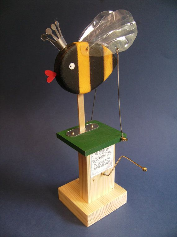 Be Nice to Bees. by Newsteadautomata on Etsy