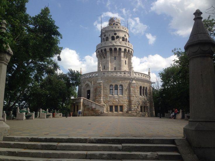 Janos hegy in Budapest! Hierher kommt man mit dem Sessellift...