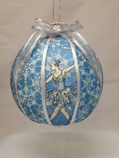 Just as dancing  keeps you alive, SVGCuts inspires you to create.  Check out this pretty Ball Ornament Tracey made, so lovely!  From the SILENT NIGHT SVG KIT at SVGCuts, the place that makes it happen!