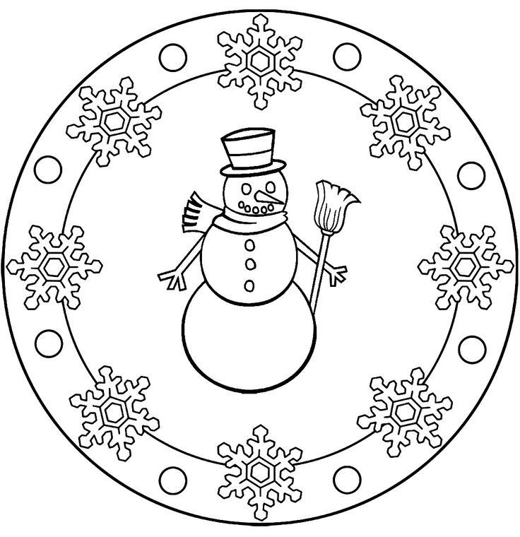 92 besten mandala  christmas  winter bilder auf