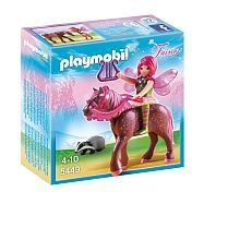 Playmobil - Forest Fairy Surya with Horse (5449)