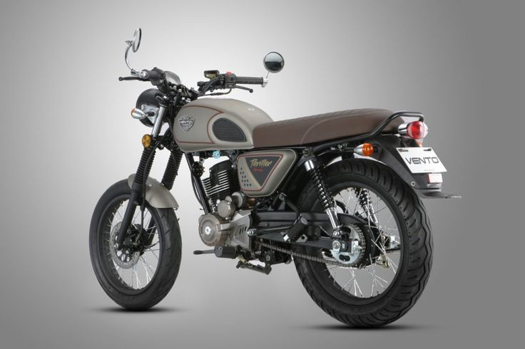 Thriller 200 Vento Motorcycles Cafe Racer Motorcycle Thriller