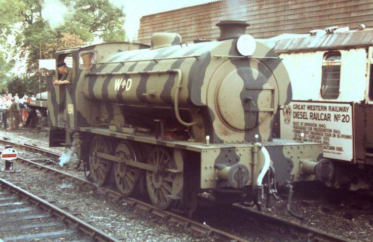 8X-241  Austerity 0-6-0ST No WD191 (K&ESR No. 23 'Holman F Stephens') runs…