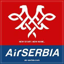 Air Serbia Logo. (SERBIAN).