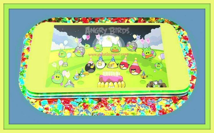Jelly Cakes Angry Birds!