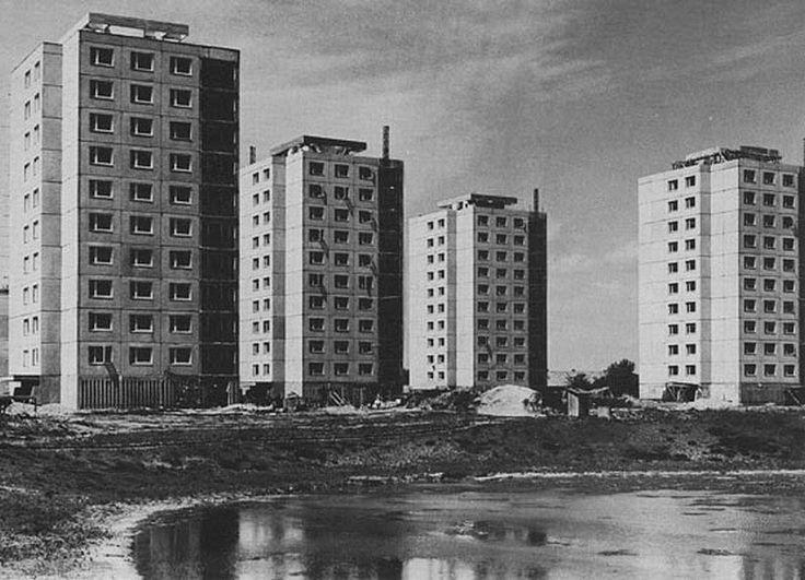 Pentelei sor átadás előtt - 1969