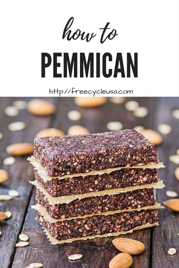 How To Make Pemmican Survival Super Food - http://www.freecycleusa.com/make-pemmican-survival-super-food/