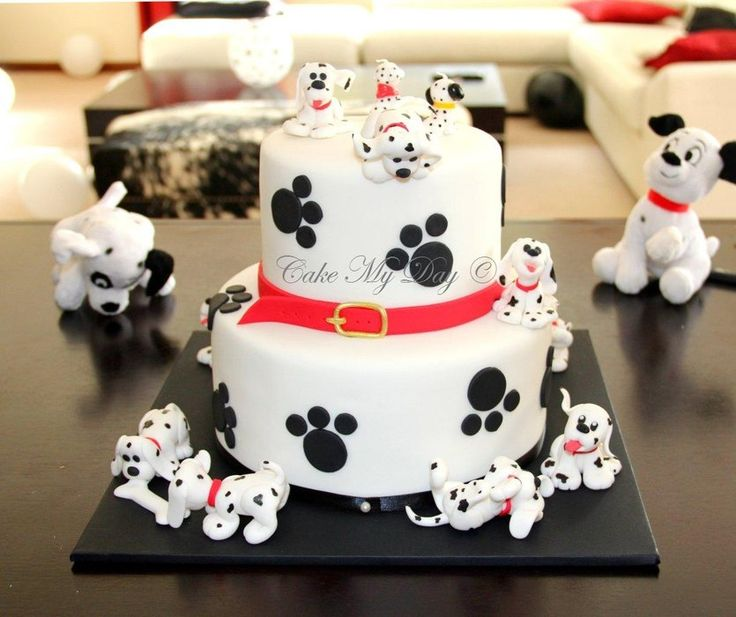 101 dalmatians - by Cake My Day @ CakesDecor.com - cake decorating website