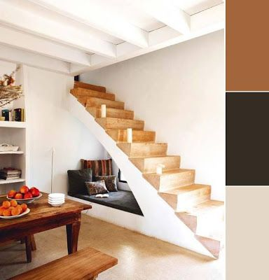 55 Ideas de cómo aprovechar y ahorrar espacio en el hogar: Cozy Nooks, Idea, Window, Understair, Reading Nooks, Under Stairs, House, Books Nooks, Reading Spots