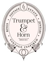 Trumpet&Horn//this place though. Vintage ring heaven!!! @victoria hubbard you're in charge of a certain someone snooping on this! ;)
