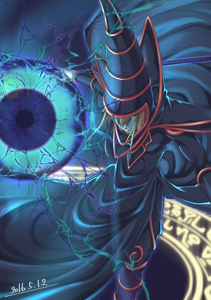 Dark Magician phone wallpaper | Yugioh, Anime, Geek