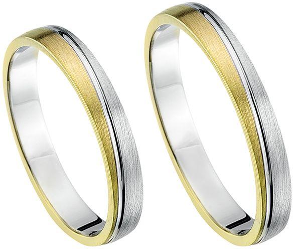 Goedkope verlovingsring. Bent u op zoek naar een mooie verlovingsring? Deze super mooie bicolor ring bieden wij tegen een zeer lage prijs. - € 642,45