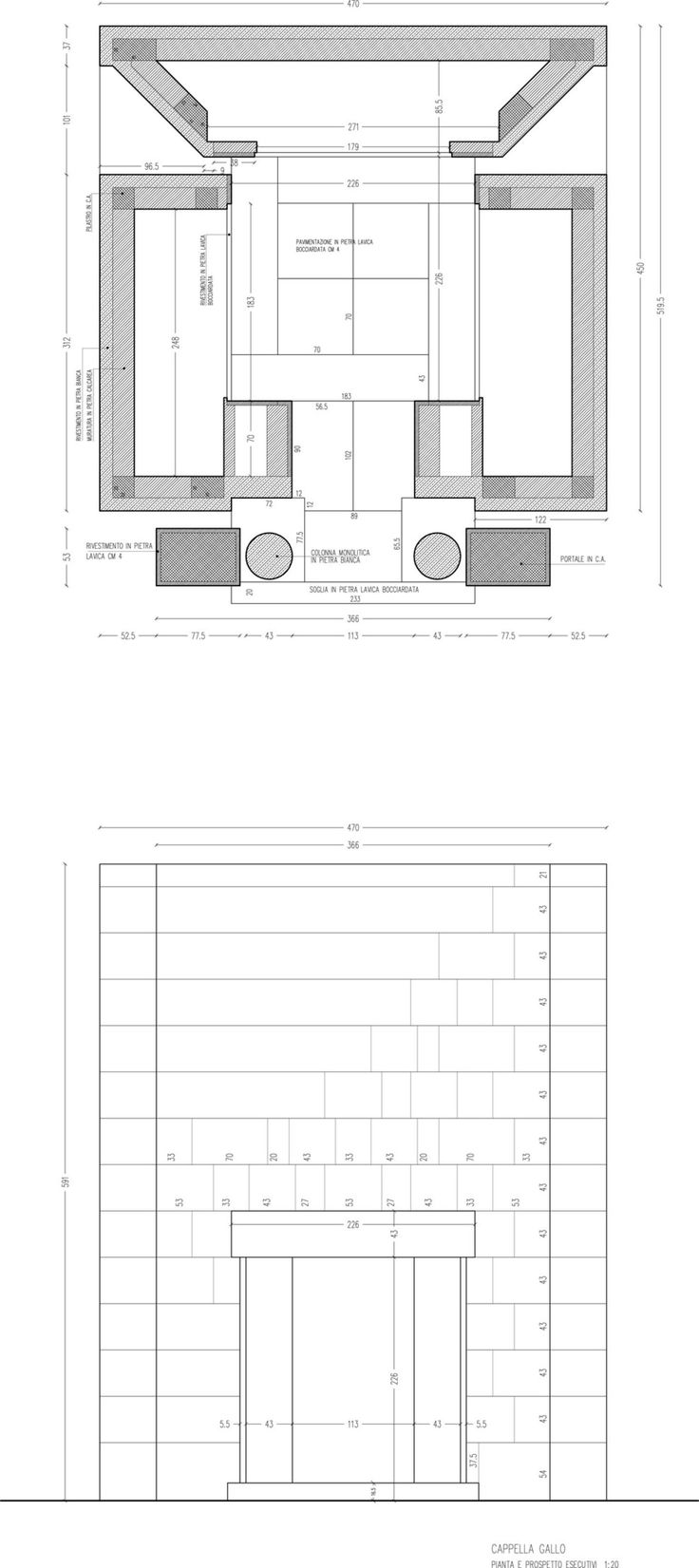 Bruno Messina · Cappella funeraria · Divisare