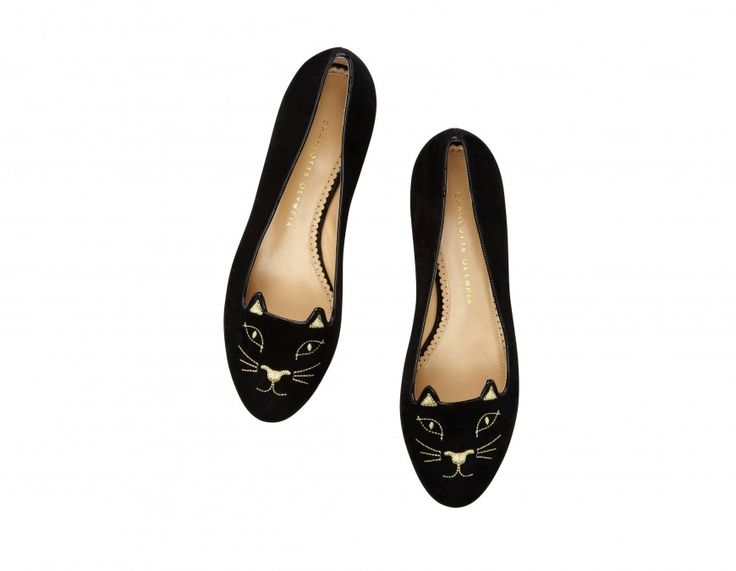 I want to find a cheaper verison of these Charlotte Olympia Kitty Flats...