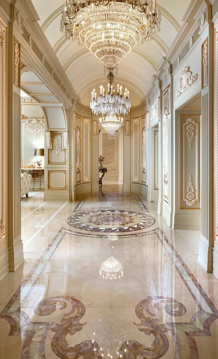Heavenly Elegant Beauty Luxury Interior House Design Mansion