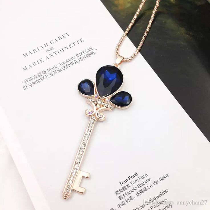 Fashion Rose Gold Sweater Chain Stone Necklaces Pendants Jewelry Key Rose Flower Cross Cat Eye Gem Stone Owl Swarovski Crystal Long Necklace Hot Sale Long Sweater Chain Cat Eye Gem Stock Necklace Wholesale Pendant Necklace Online with $3.66/Piece on Annychan27's Store | DHgate.com