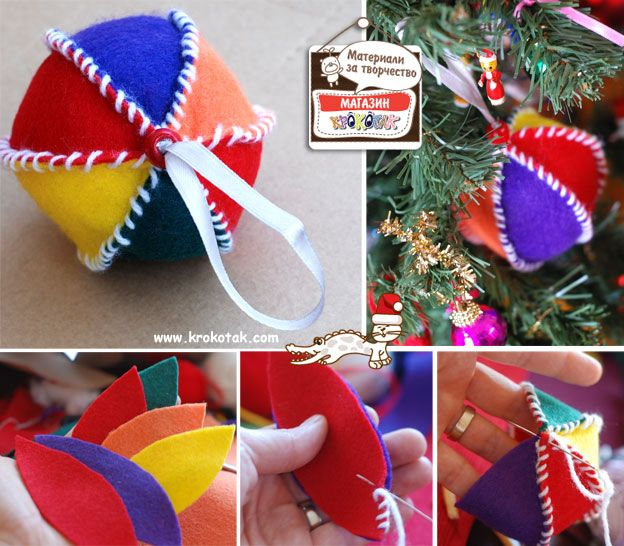 Christmas Ornaments DIY-great for kids as well as us bigger kids - hehe