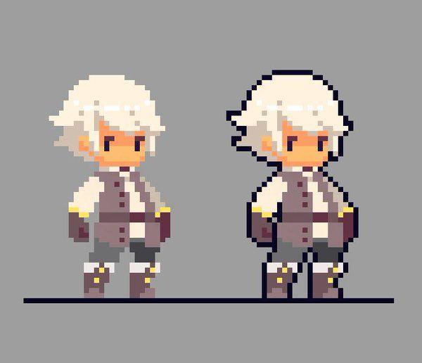 Pixel Art Character Design Tutorial : Best pixel characters creatures images on pinterest